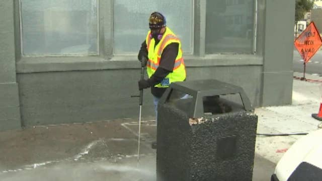 San Francisco starts 'poop patrol' to deal with human waste