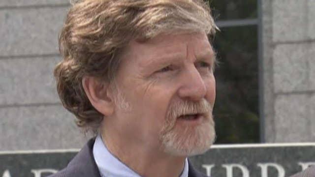 Baker sues Colorado over 'crusade to crush' him