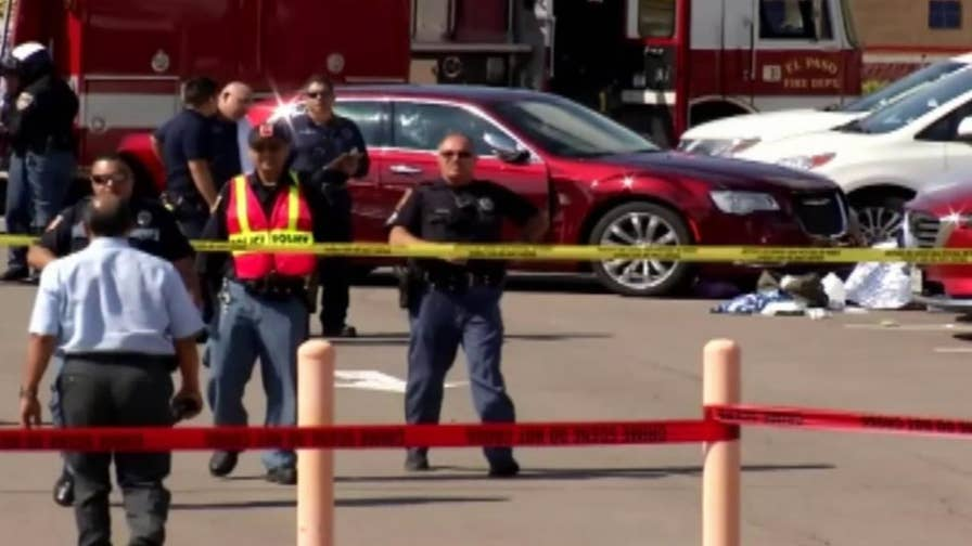 A parent was killed and three students were injured after they were struck by a vehicle backing out of its space in front of Tippin Elementary in west El Paso, Texas.