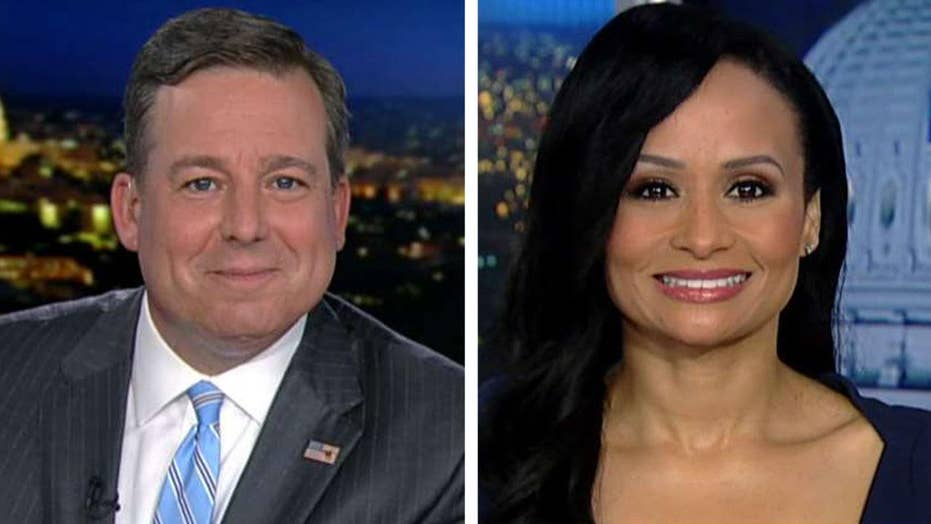 Ed Henry presses Katrina Pierson over recorded Omarosa call