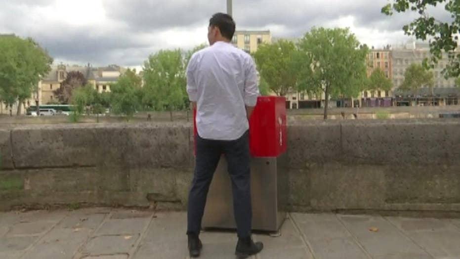 Public urinals cause uproar in Paris
