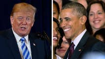 New York Times says President Trump is touting Obama's economic growth after writing in 2016 that low growth will haunt whoever wins the White House.