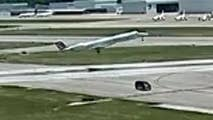 Raw video: NTSB investigating incident at Springfield-Branson National Airport where a van with workers drove across the runway and narrowly missed a plane taking off.