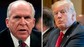 "Twelve former senior intelligence officials issued a statement late Thursday criticizing President Trump's ""ill-considered and unprecedented"" decision to strip former CIA Director John Brennan's security clearance."