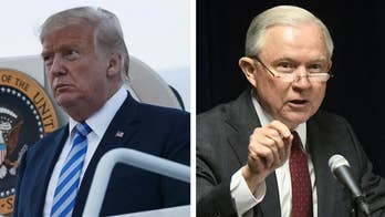 In the latest salvo against the opioid crisis, President Trump asked Attorney General Jeff Sessions to bring federal lawsuits against certain pharmaceutical companies; FBN's Blake Burman reports from the White House.