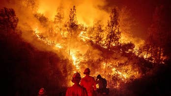 Claudia Cowan reports on firefighters' efforts to battle devastating California wildfires.