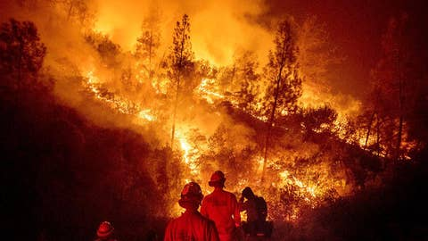 Historic wildfires continue spreading in California