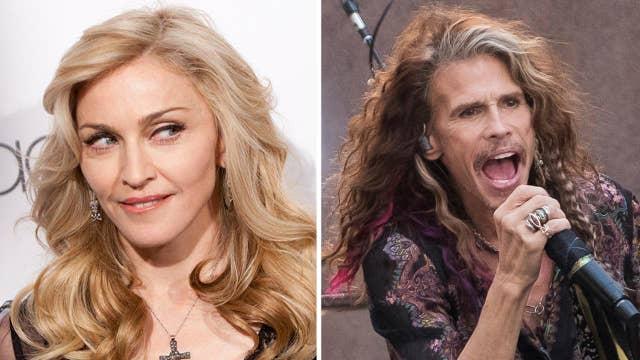 Madonna marks a milestone; Aerosmith heads to Sin City