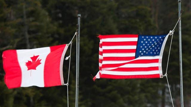 Canada facing border crisis of its own?