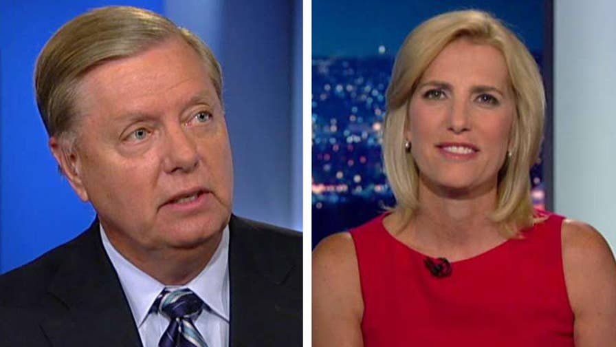 Senator Lindsey Graham speaks out on 'The Ingraham Angle' about why he wants an investigation into the conduct of the FBI.