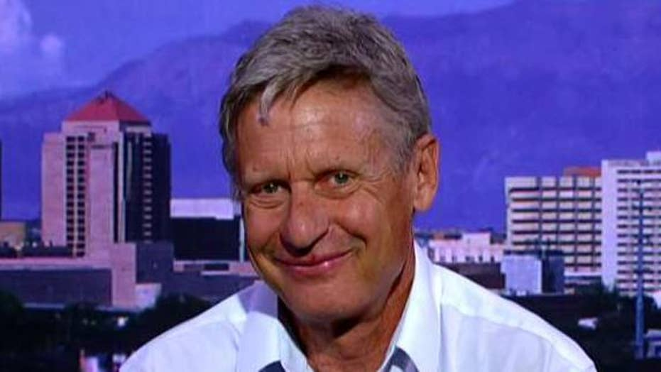 Gary Johnson: I could have power as the Senate swing vote