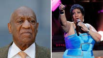 Disgraced comedian Bill Cosby was slammed by social media users after tweeting a tribute to the late soul singer Aretha Franklin.