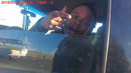 The full body camera footage of a traffic stop that involved Jordan Hancock, the son of Denver Mayor Michael Hancock, was released.