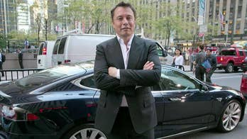 Musk 'choked up multiple times' and 'struggled to maintain his composure' during an hour-long interview about turmoil at his electric car company Tesla; Fox Business Network's Kristina Partsinevelos reports.