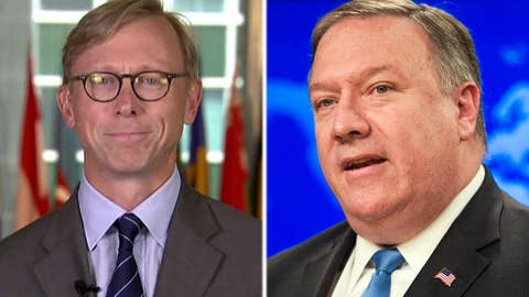 Pompeo taps Brian Hook as special representative for Iran