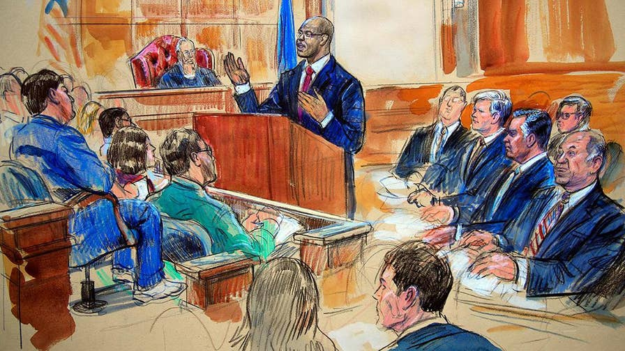 Peter Doocy reports on the jury's questions for the judge as the trial enters day 2 of deliberations.
