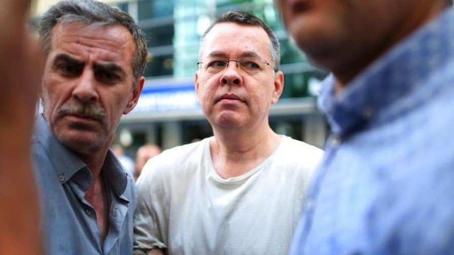 Rich Edson reports on the escalating tensions over the detention of Pastor Andrew Brunson.