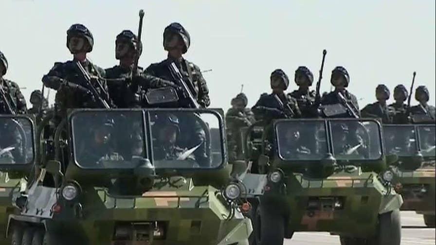 Pentagon warns China training for strikes on US targets