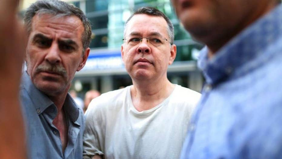 Turkey rejects US appeal to end pastor's house arrest
