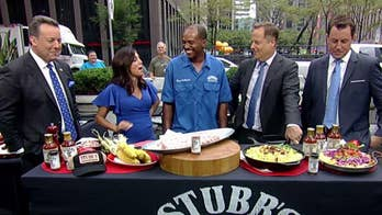 Stubb's official pit master joins 'Fox & Friends' to mark significant milestone and to shares some grilling tips.
