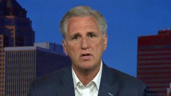 House Majority Leader Kevin McCarthy speaks out on 'Fox & Friends' about what the Democrats' priorities would be if they retook the majority in the House.