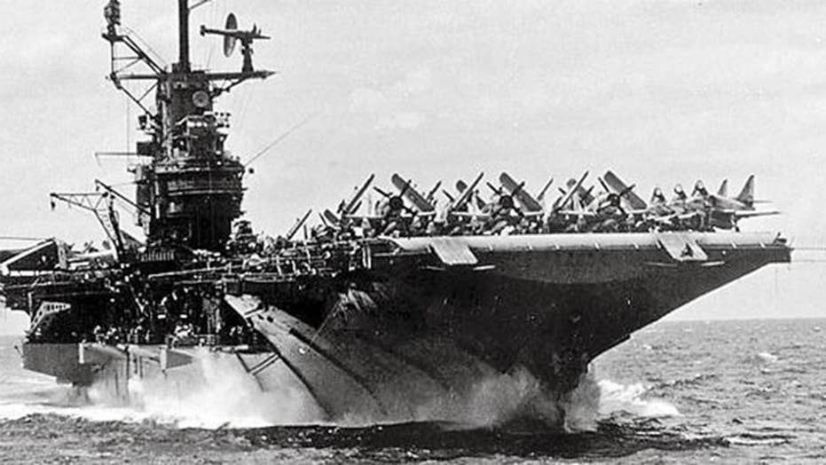 Commemorating the 75th anniversary of the USS Intrepid