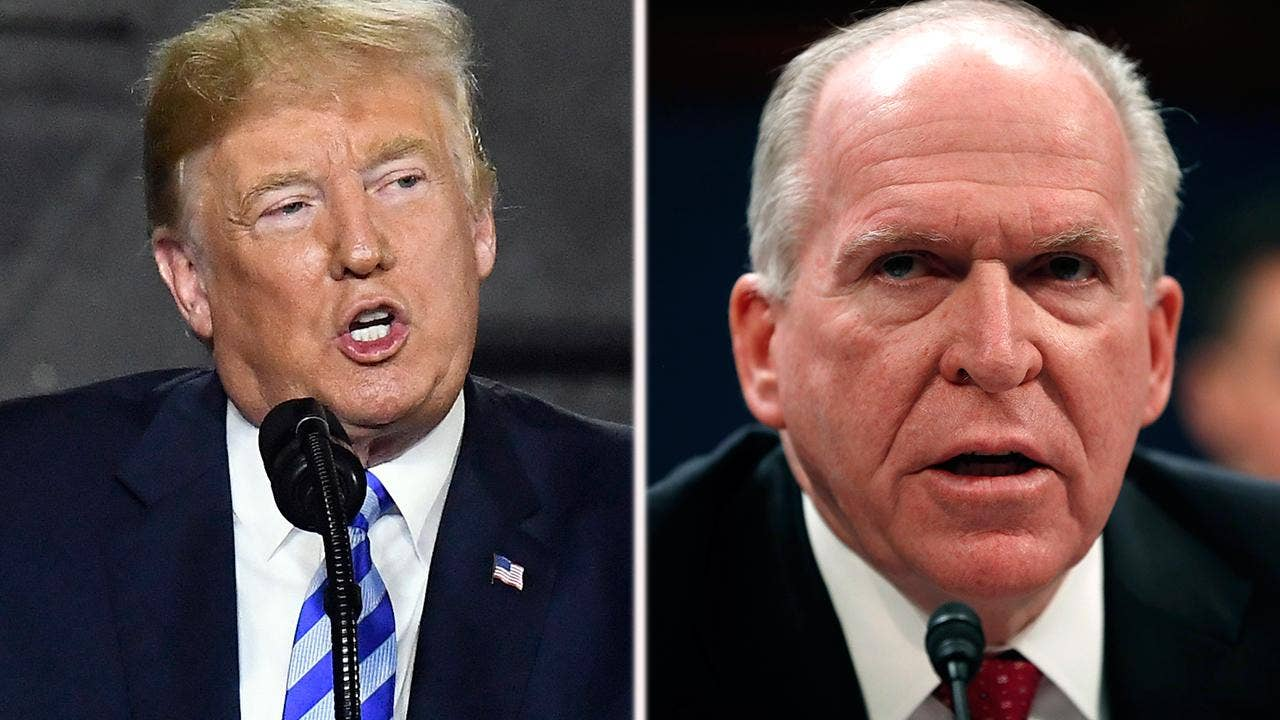 Intel vets slam Brennan as Trump dares ex-spymaster to sue more than security clearance