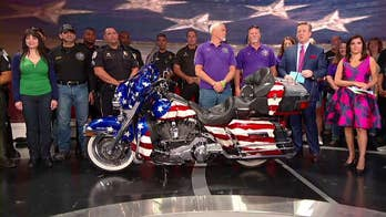 America's 9/11 Ride is held each year to pay tribute to 9/11 victims, with proceeds benefiting children of first responders.