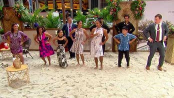 With help from the Four Seasons Resort Hualalai and the E ALA E. Hawaiian Cultural Center, 'Fox & Friends' throws a luau.
