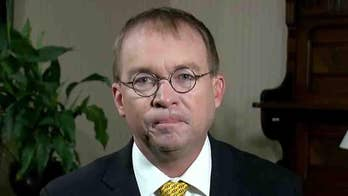 White House budget director on impact of escalating trade tensions and a possible government shutdown.