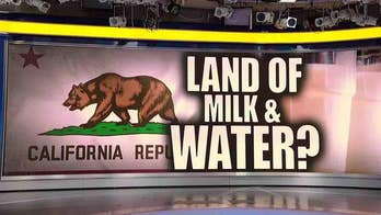 California bill proposes that restaurants only serve milk or water with kids' meals in an effort to combat childhood obesity; Mike Slater reacts.