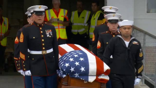 Remains of soldier killed at Pearl Harbor returned home