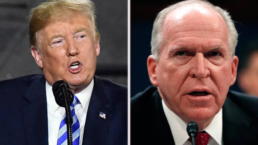 Revokes ex-CIA chief's clearance.