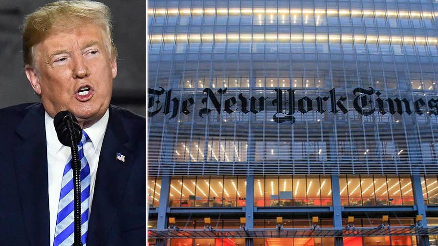 New York Times reports that White House counsel cooperated extensively with Robert Mueller; 'America's News HQ' talk radio panel weighs in.