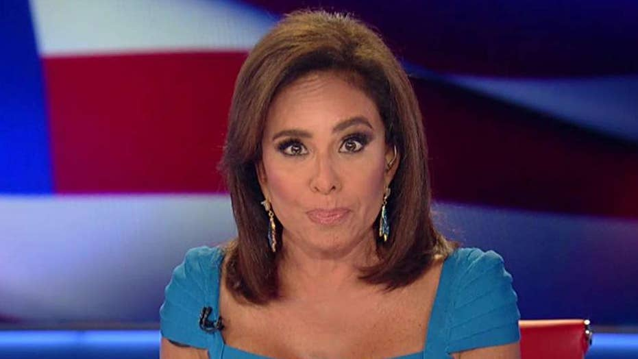 Judge Jeanine: Dems call in serial 'cleaner' Bob Mueller