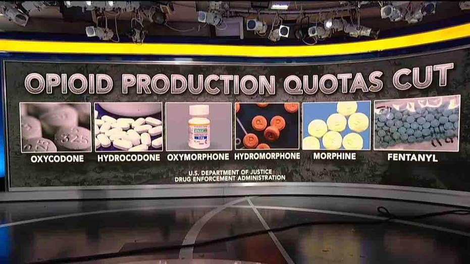 Trump admin proposes production quota cuts for six opioids