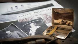 A storied gold cigarette case that once belonged to a controversial wealthy couple that survived the Titanic disaster is up for auction.