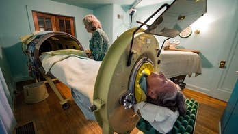 "82-year-old polio survivor Mona Randolph uses one of only three ""iron lungs"" known to still be in use in the U.S. The iron lung, which was invented in 1920s, was often used on polio patients who were unable to breathe after the virus paralyzed muscle groups in the chest. Six nights a week, Randolph sleeps up to her neck in a noisy, airtight, 75-year-old iron tube."