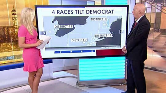 Directions for dozens of competitive congressional races have shifted.