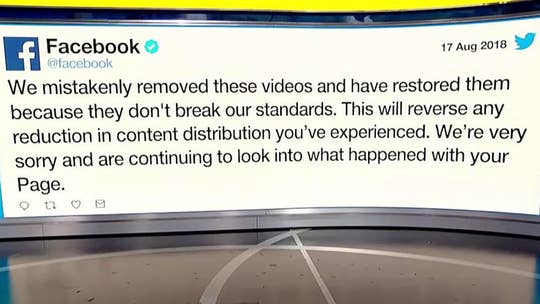 Conservative non-profit says Facebook is deliberately censoring conservative ideas.