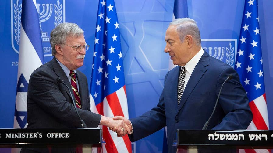 White House national security adviser meets with Israeli prime minister to discuss Syria, Gaza and Iranian 'aggression'; Trey Yingst reports from Jerusalem.