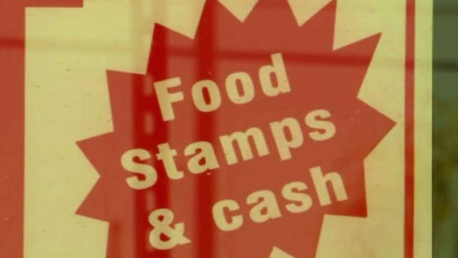 The nation's unemployment rate stands at the lowest level in years, but enrollment for food stamps remains unusually high; William La Jeunesse reports.