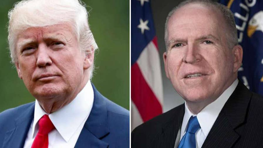 Former CIA Director John Brennan threatening legal action against the president to prevent others from having their clearances pulled; reaction and analysis on 'The Five.'