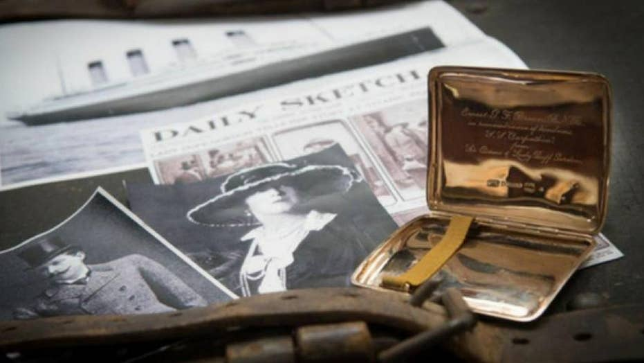 Controversial Titanic artifact up for auction