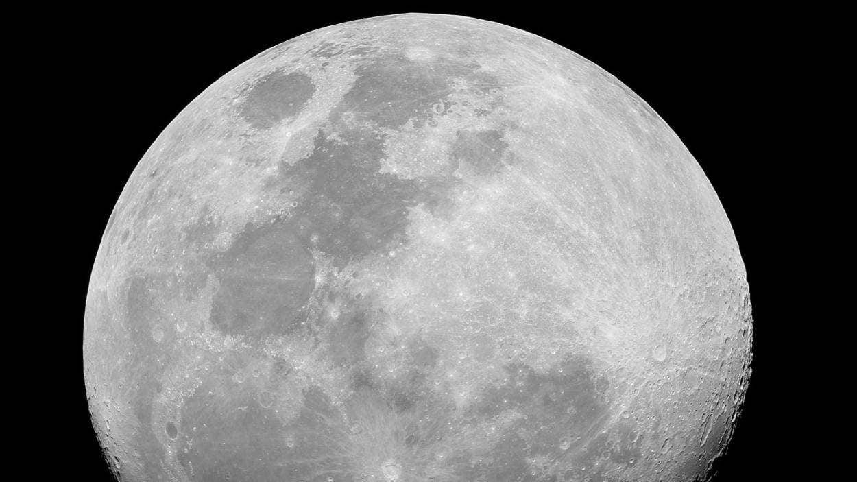 stunning moon discovery frozen surface water found on the moon s