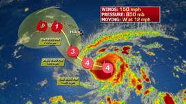 A hurricane watch was issued for parts of Hawaii on Tuesday as powerful Hurricane Lane is expected to make a turn toward the Hawaiian islands later this week.