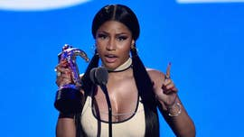 Nicki Minaj was criticized Monday after she compared herself to Harriet Tubman ahead of her appearance at the Video Music Awards.