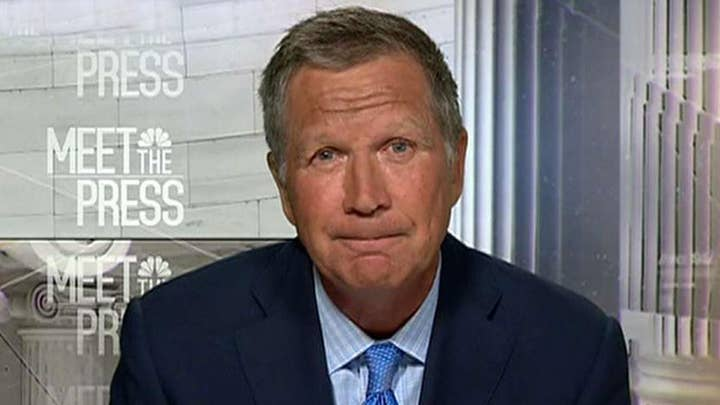 Does John Kasich want to play presidential spoiler?