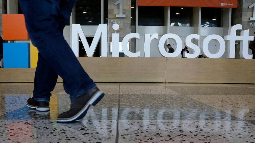 Microsoft seizes dummy websites created by Russian hackers as the Senate holds hearings on combating election interference; Rich Edson reports from the State Department.