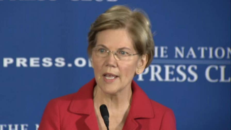 Senator Elizabeth Warren discusses the government's responsibility to earn the trust of the American people.